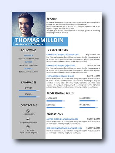 Modern Right | remarkably smart resume templates Simple to Edit | Microsoft Word Ready | Creative Designs