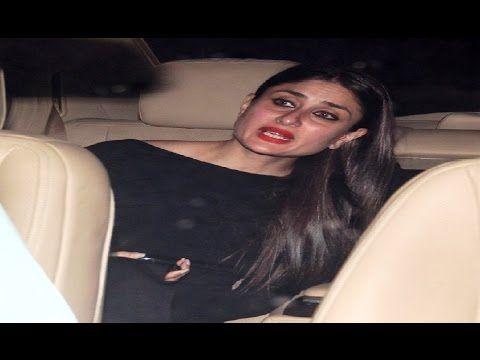PREGNANT Kareena Kapoor at special screening of Ae Dil Hai Mushkil movie.
