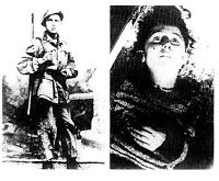 The killing of Virgilio Ferrari of years 15, guilty of being just a young fifteen-mascotte.Un mascot of the Alpini, mercilessly murdered by Communist partisans.