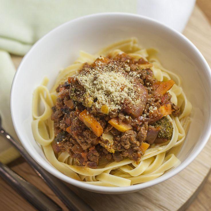 Pasta Bolognaise -VeganEasy.org