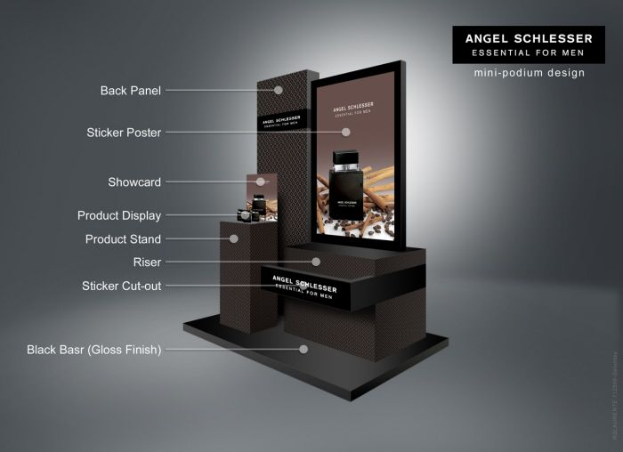 Podium 3d Design using Adobe Photoshop by rommel laurente at Coroflot.com