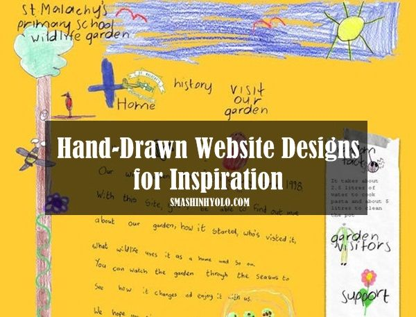Top 30 Hand-Drawn #Website #Designs for Inspiration