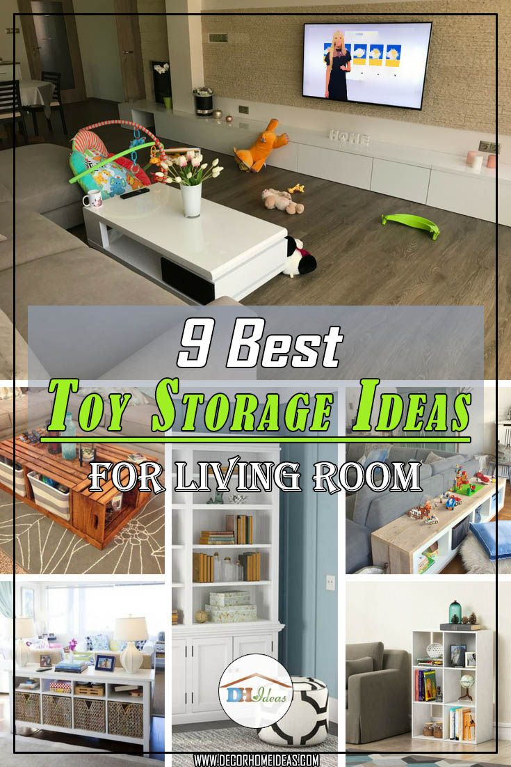 10+ Best Toy Storage Solutions For Living Room