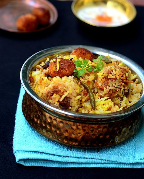 Vegetarian version recipe lunches book and biryani for Awadhi cuisine book