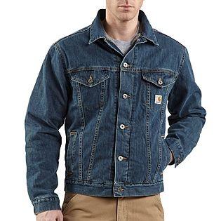Denim jean jacket. Modelo Sherpa.