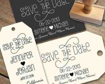 Homemade Save The Date