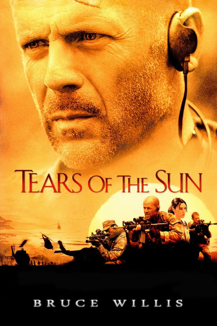 """Tears of the Sun (2003) - """"Those Africans are my people too. For all the years that we have been told to stand down and stand by, you doin' the right thing."""""""