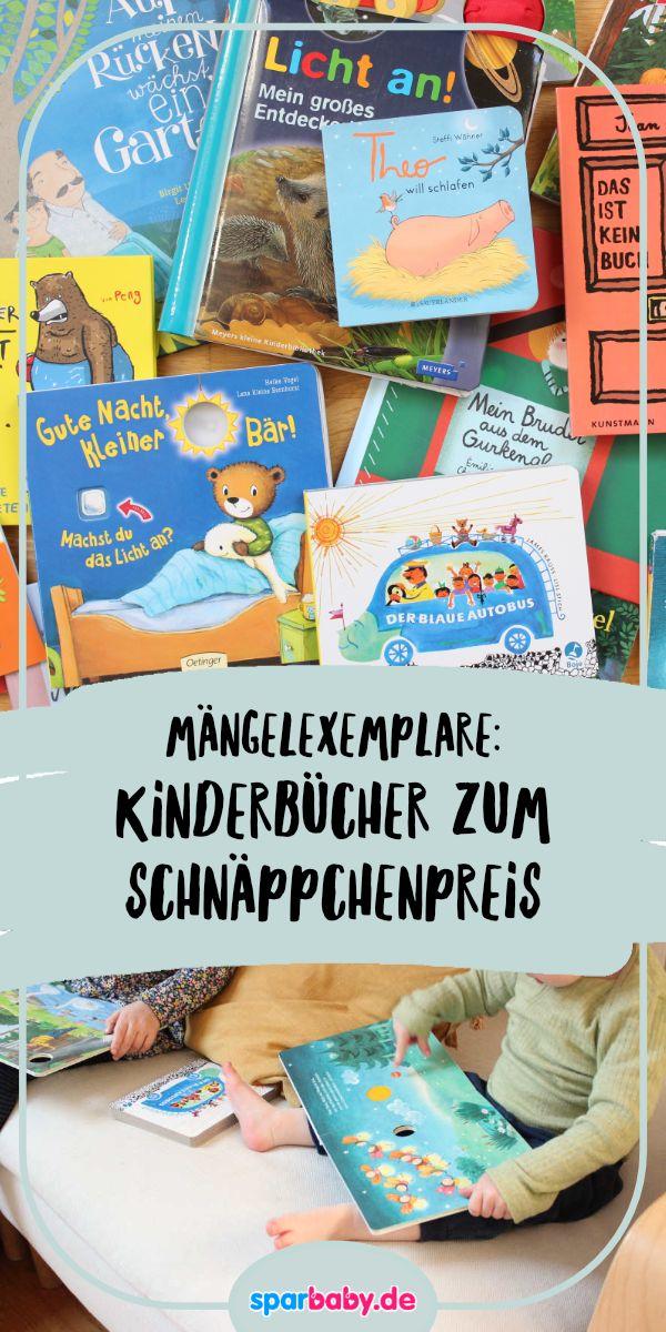 Hier erhalten Sie Kinderbücher zu einem Sonderpreis   – Ratgeber Baby & Kind