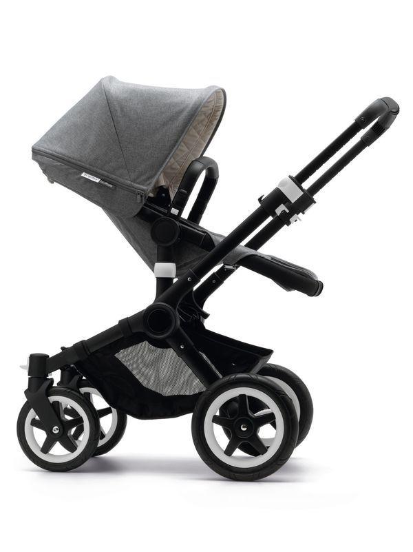 Global Baby | Bugaboo Buffalo Special Edition Classic+ Grey Melange , Strollers