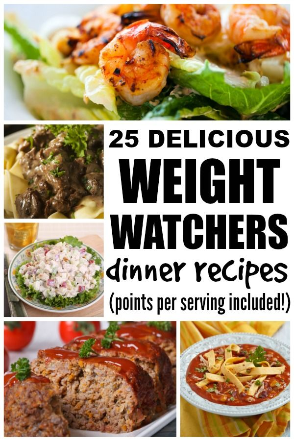 25 Weight Watchers dinner recipes | Read more, Weights and ...