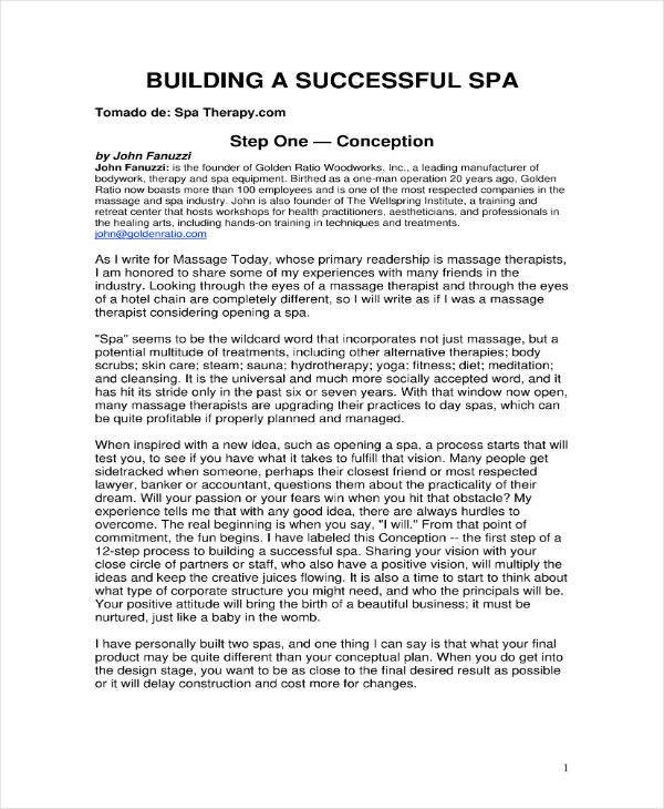 Massage Business Plan Template Free Best Of 6 Massage Therapy Business Plan Templates Pdf Massage Therapy Business Massage Business Business Plan Template Free
