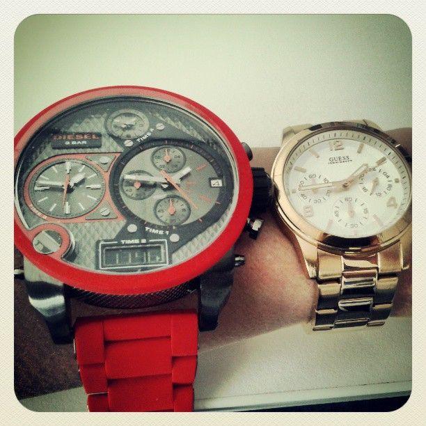 Wát een verschil! http://www.kish.nl/Guess-horloges/