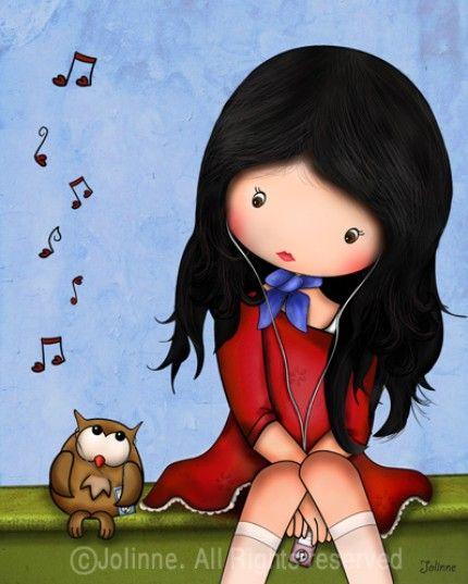 Pequeño búho cantando