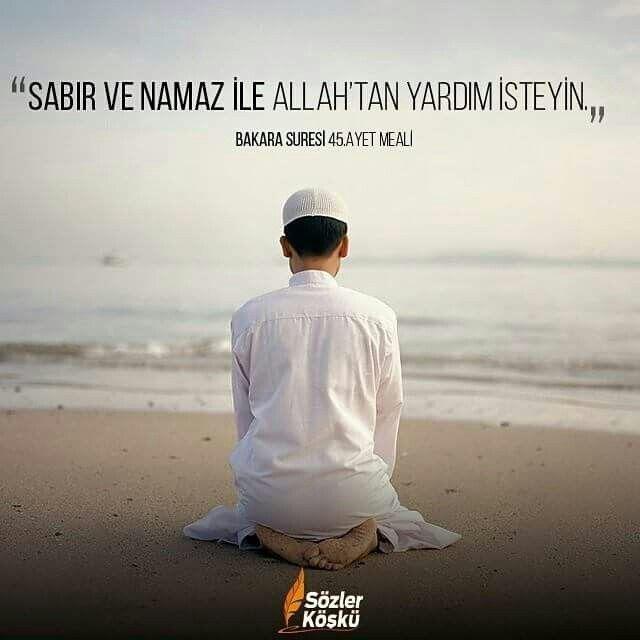 #sabır #namaz #sözlerköşkü