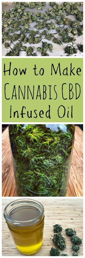How to Make Cannabis CBD Infused Oil