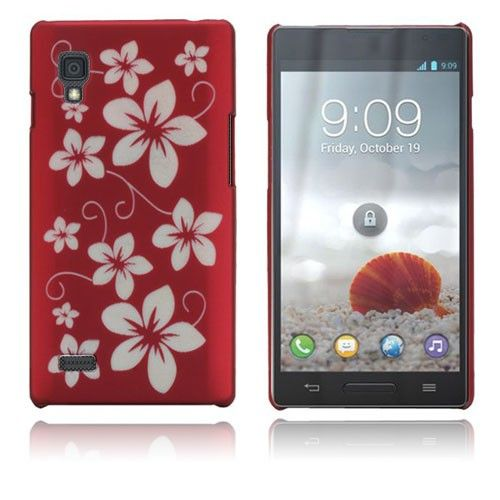 Flowers (Red) LG Optimus L9 Case