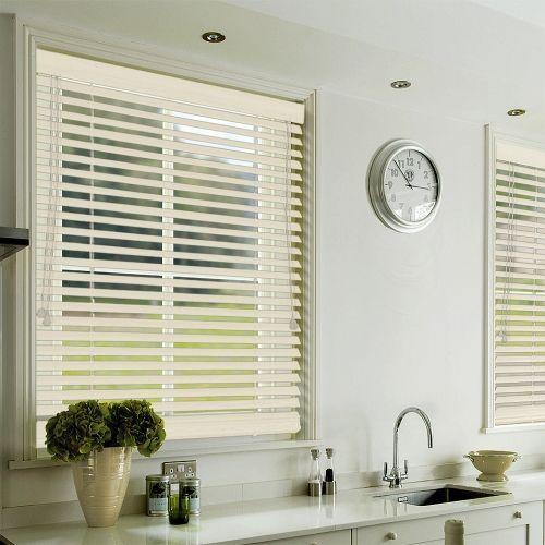 Antique Cream Lifestyle Wooden blinds