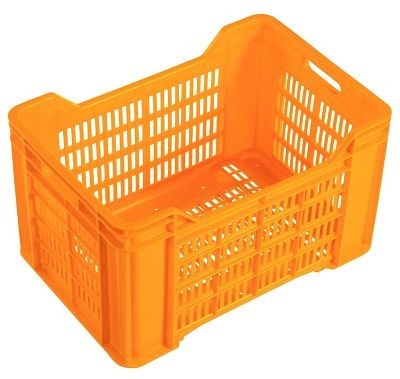 Nally 36L Vented Stacking Plastic Crate | Spacepac Industries