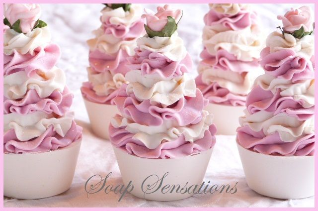 The Happy Housewife and her soap obsession: There's Always More Cupcake Soaps & A Few Bar Soapss