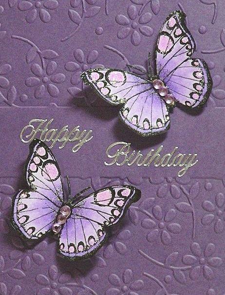Happy Birthday - butterfly - Custom edit by lechezz
