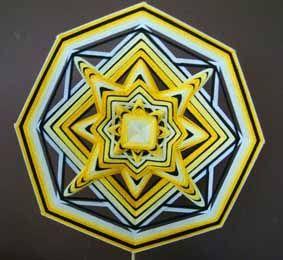 ojo de Dios pattern