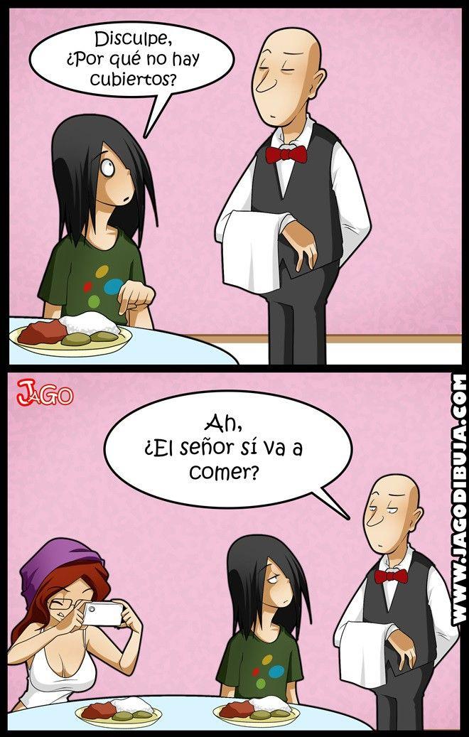 Así come una chica #hipster... Vía @Enterco | #Humor