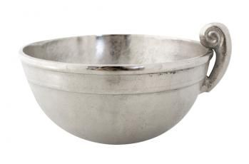 Raw Nickel Bowl available at meizai