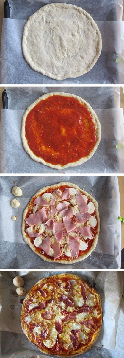 Recept na těsto na pizzu - DIETA.CZ