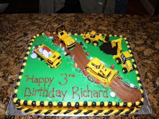 Boys Construction Themed Birthday
