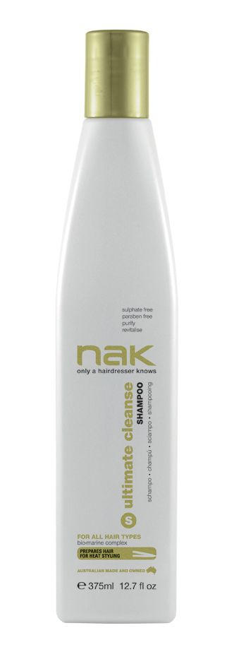 nak ultimate cleanse shampoo / designed for all hair types #sulphatefree #parabenfree #purify #revitalise
