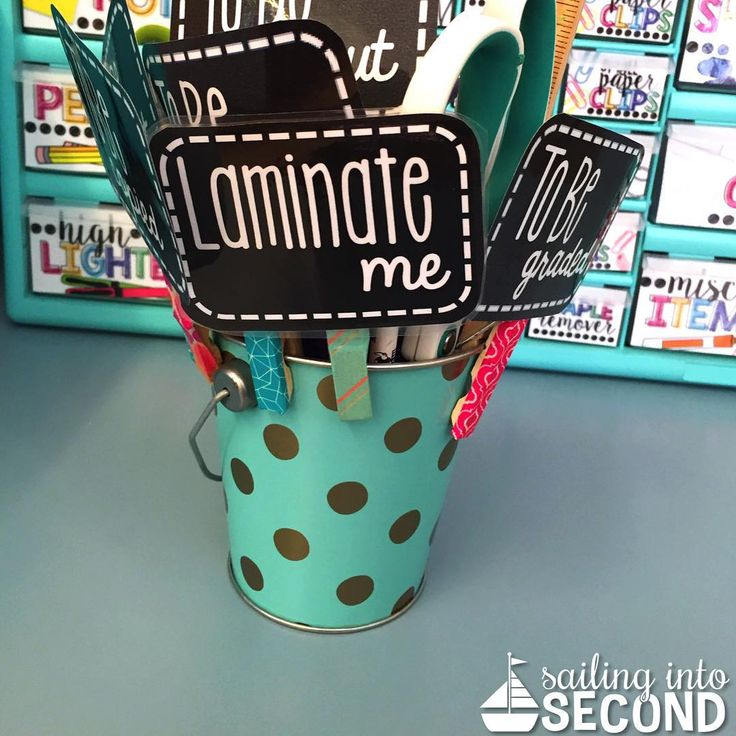 """""""Life saver! These clips save TONS of time when parent volunteers come in and help! Just clip onto your stuff and parents do the rest!"""""""
