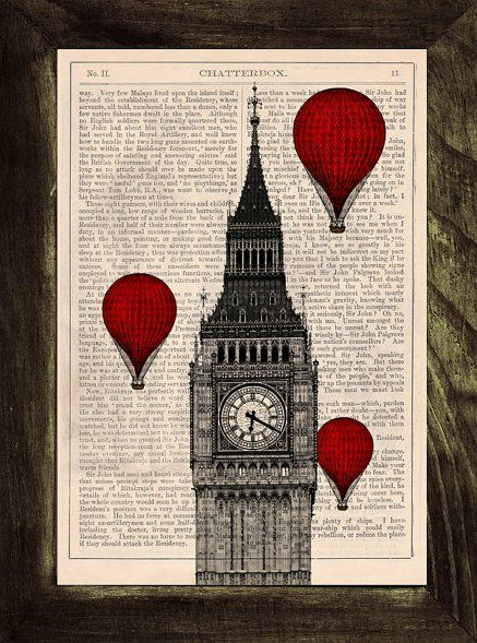 12 Amazing Book Crafts to Try   Mabey She Made It....print picture on old pages