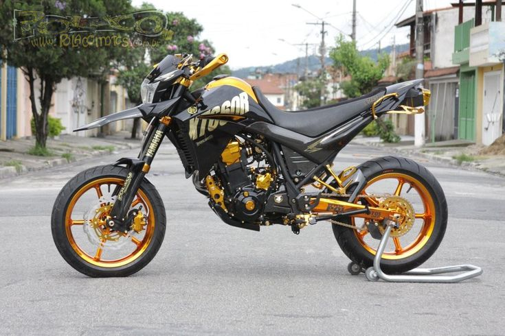 Yamaha XT660R Supermotord Gold Edition