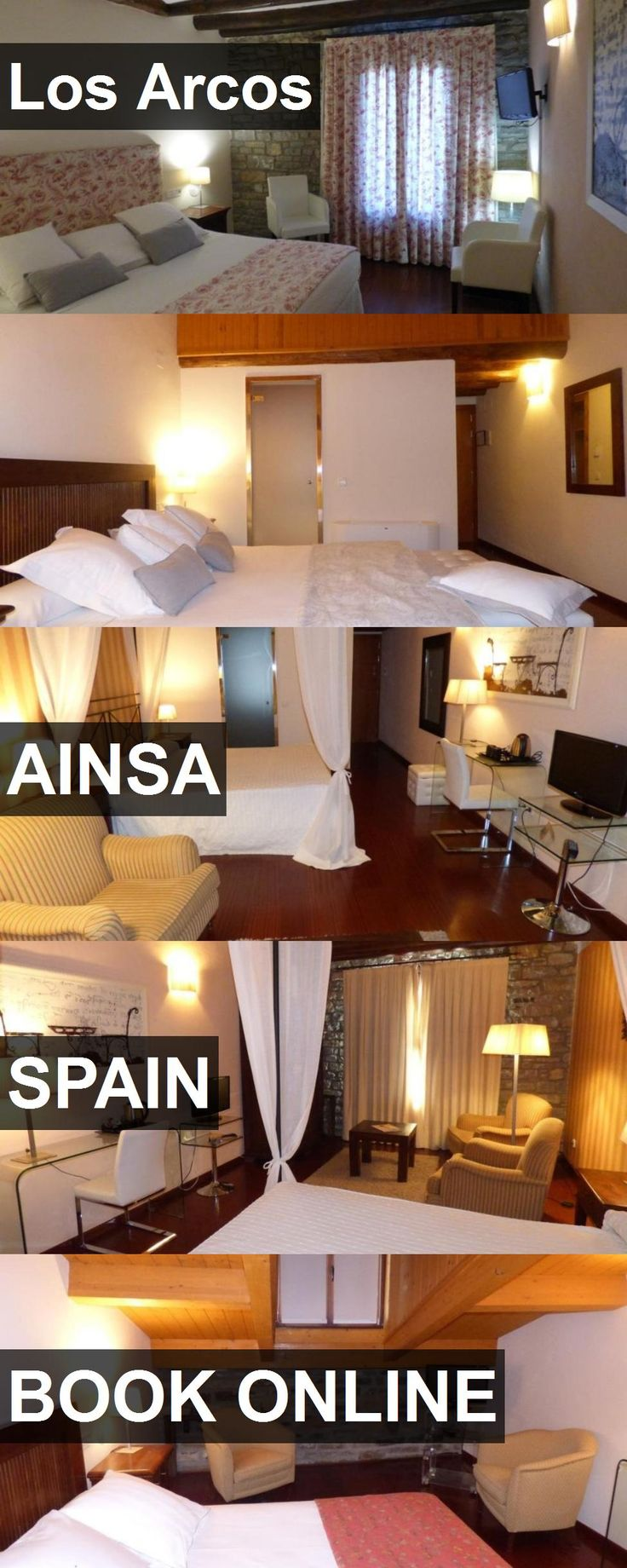 Hotel Los Arcos in Ainsa, Spain. For more information, photos, reviews and best prices please follow the link. #Spain #Ainsa #hotel #travel #vacation