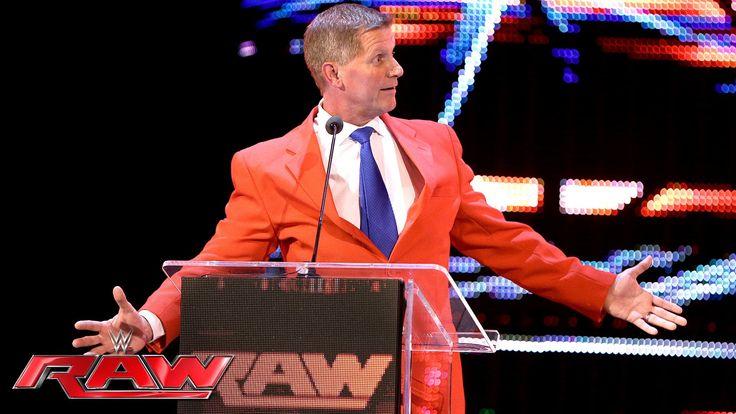 "John Laurinaitis brings ""People Power"" to The New Era: Raw, June 20, 2016"