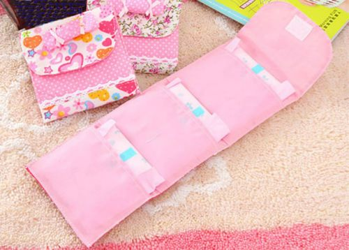 Sanitary Napkins Pouch PAD Towel BAG Holder Small Article Nursing Panty Liner | eBay