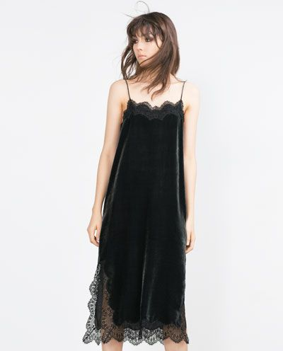 Image 1 of VELVET STUDIO DRESS from Zara
