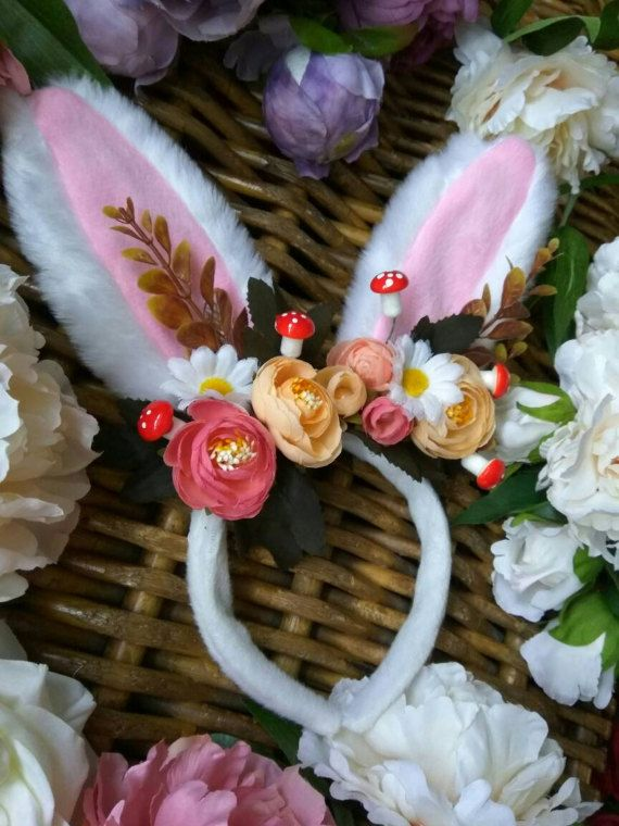 Check out this item in my Etsy shop https://www.etsy.com/uk/listing/497795644/secret-garden-bunny-ears