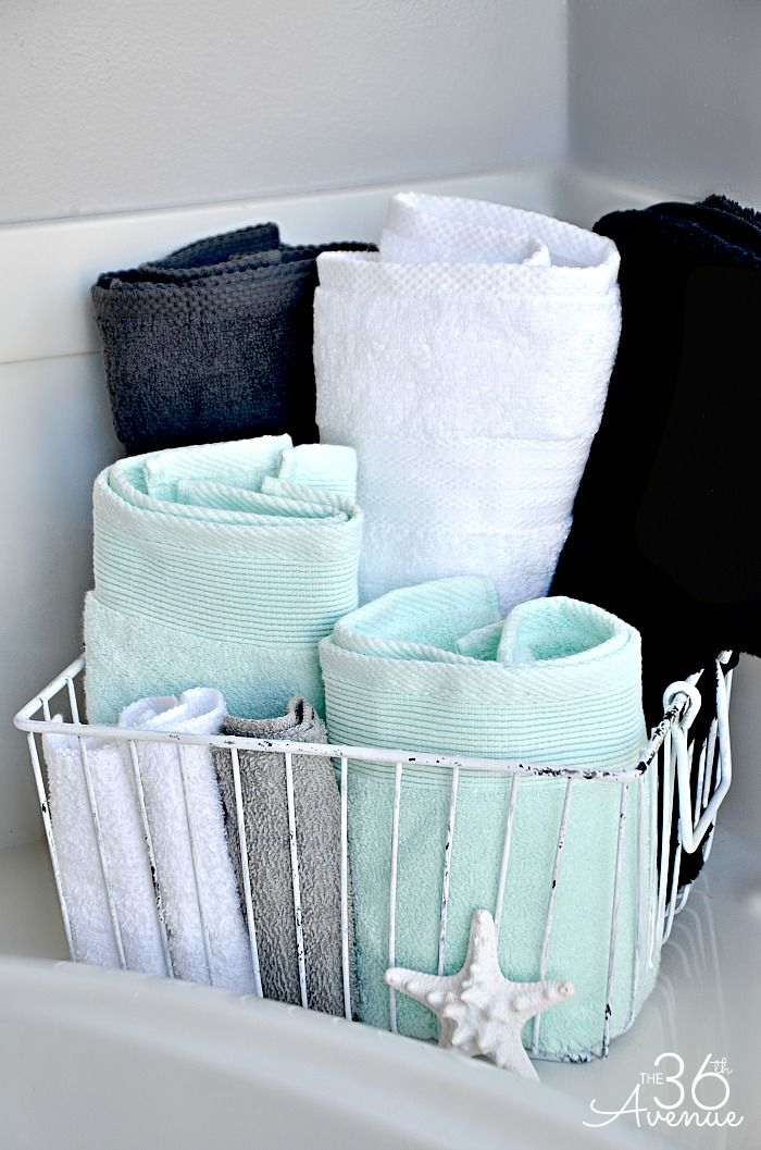 Decorative Bathroom Towel Storage : Best bathroom towels ideas on