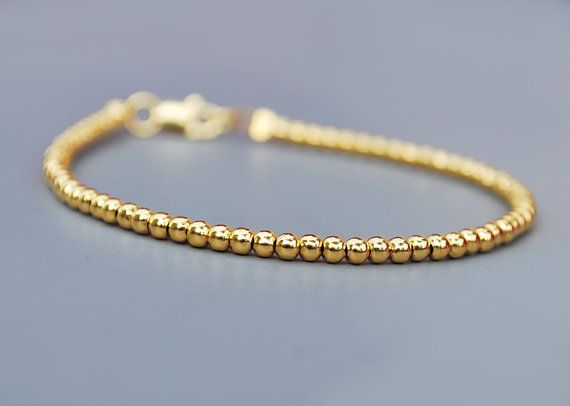 NEW  Beautiful GOLD women BRACELET  sterling by euforioHandmade