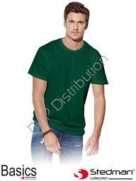 Zielony t-shirt męski STEDMAN ST2000_BOG
