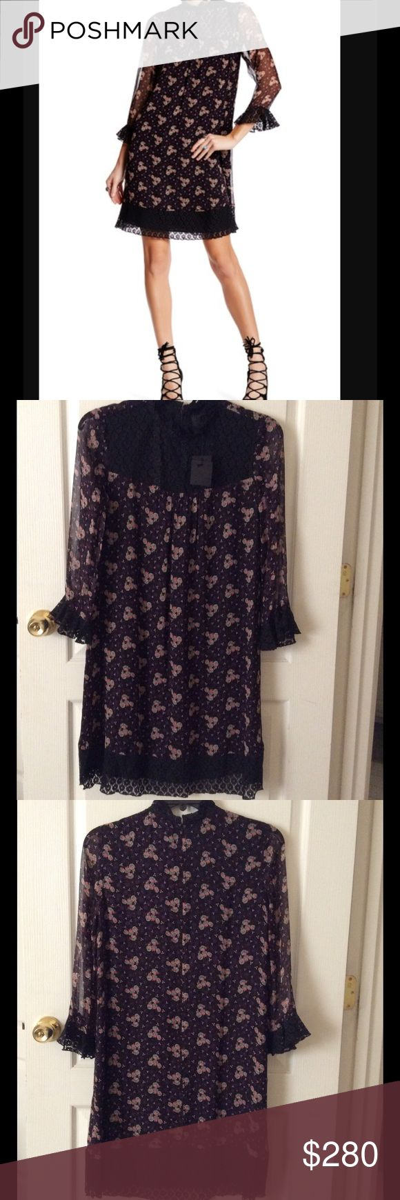 🆕 Anna Sui dress- rt $480 size 6 New with tags authentic ANNA SUI dress with lace detailing. Retails $480 + tax ***PRICE IS FIRM*** no trades please Anna Sui Dresses Midi