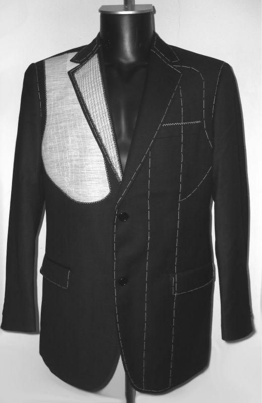 #100% wool half-canvas men's suit, #tailored suits for men, #mens custom tailor suits