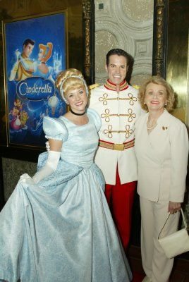 RIP ILENE WOODS, VOICE OF CINDERELLA.  Woods, seen above at the 2005 release of the Platinum Edition DVD of Cinderella.  She was 81 years old.