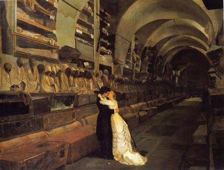 Calcedonio Reina, Love and Death, 1881 | Art | Pinterest ...