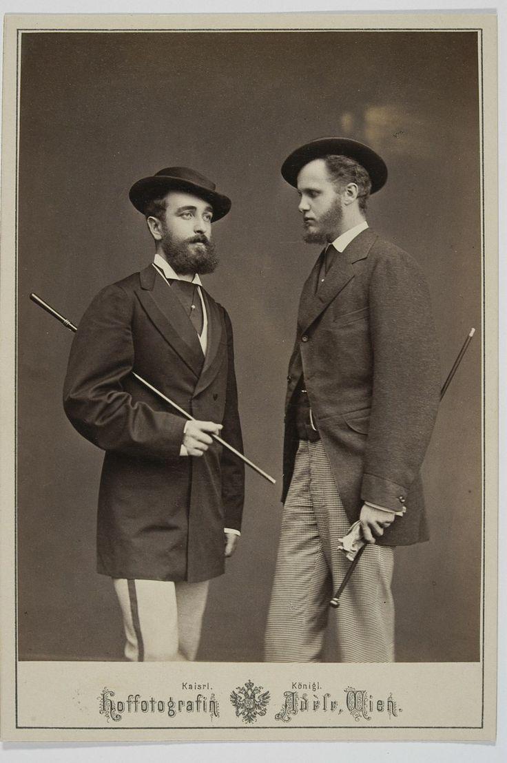 Leon Mniszech and Karol Lanckoroński