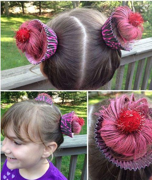 Cupcake hair