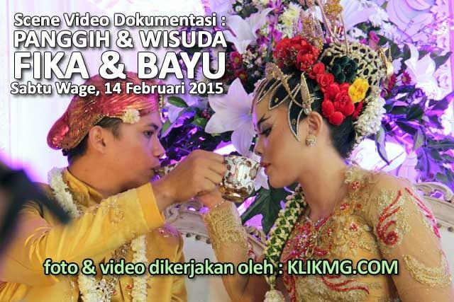 blog.klikmg.com - Rias Pengantin - Fotografi & Promosi Online : Panggih Wisuda Pengantin FIKA & BAYU - Sabtu Wage,...