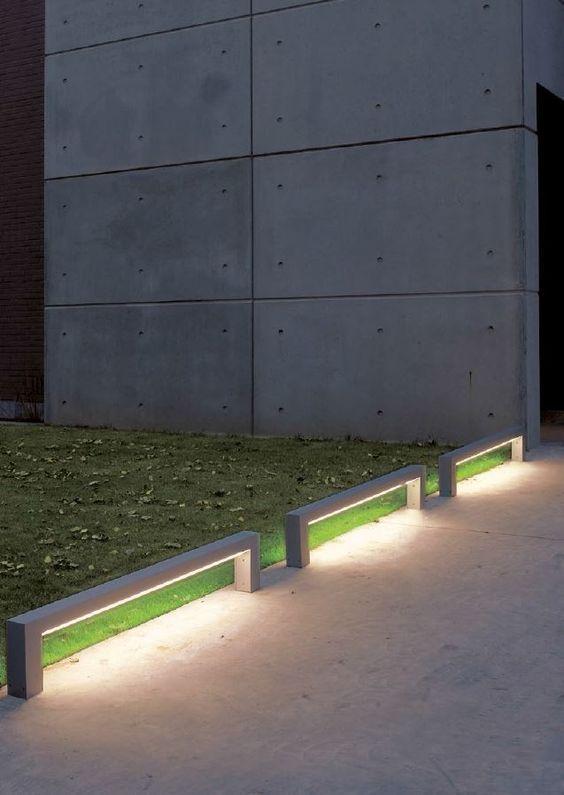 Buitenverlichting op subtiele wijze ontworpen en toegepast #verlichting #outdoor #buiten                                                                                                                                                                                 More