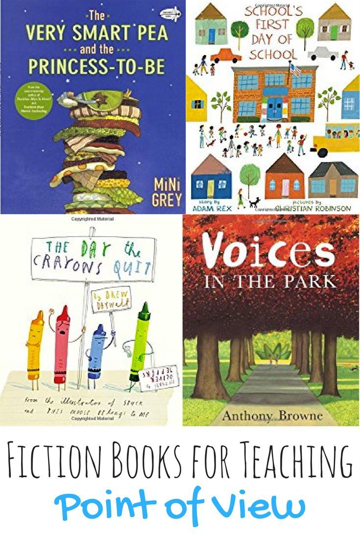 Books that can be used as read alouds or lessons when teaching point of view to 3rd grade, 4th grade, or 5th grade students!  The books included in this list include books that tell the same story from several different points of view, as well as books that tell popular fairy tales from a different point of view.